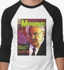 Infamous Monsters Men's Baseball ¾ T-Shirt