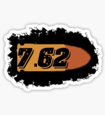 7.62 762 ak 47 sks ammo can label rifle bullet box Sticker