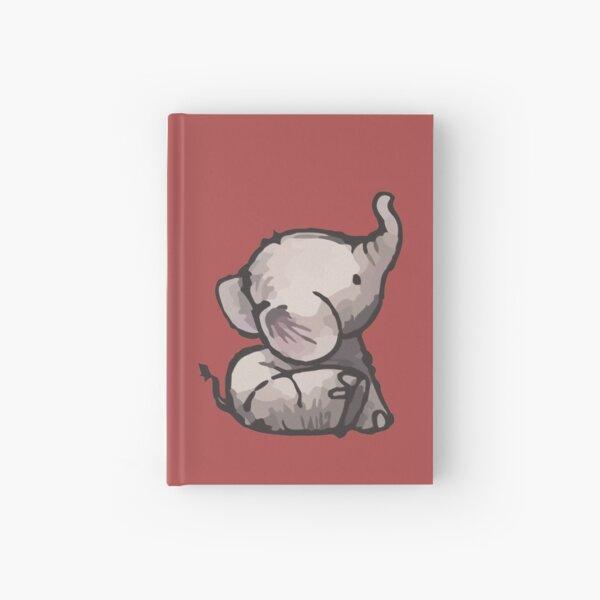 Baby Elephant Hardcover Journal