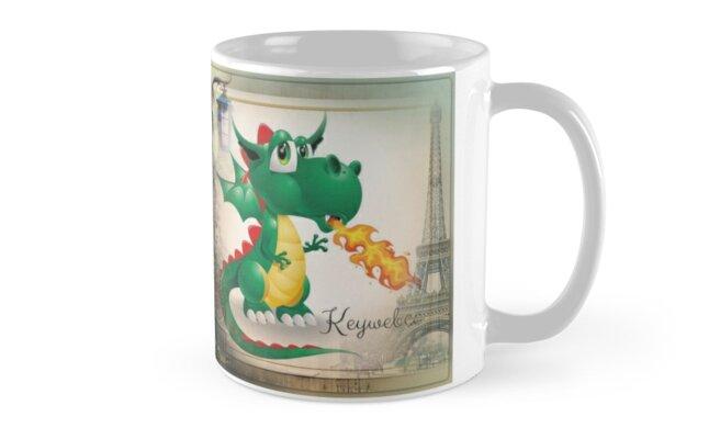 Dragon in Paris  by Keywebco