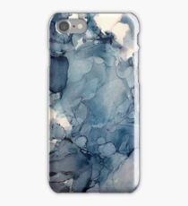Ink in blues! iPhone Case/Skin