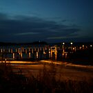 Shoal Bay Wharf by Vee T