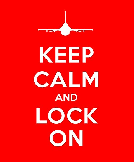 Keep Calm and Lock On by vidicious