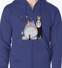 Studio Ghibli Gang Veste zippée à capuche