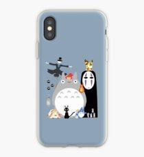 Studio Ghibli Gang iPhone Case