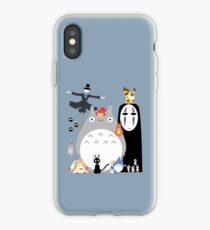 Studio Ghibli Gang iPhone Case