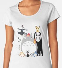 Studio Ghibli Gang Women's Premium T-Shirt