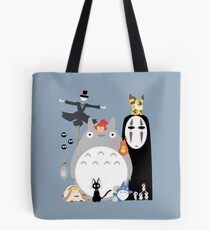 Studio Ghibli Gang Tote Bag