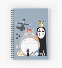 Studio Ghibli Gang Spiral Notebook