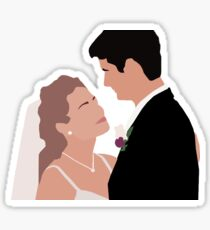 NATHAN AND HALEY - NALEY - ONE TREE HILL Sticker