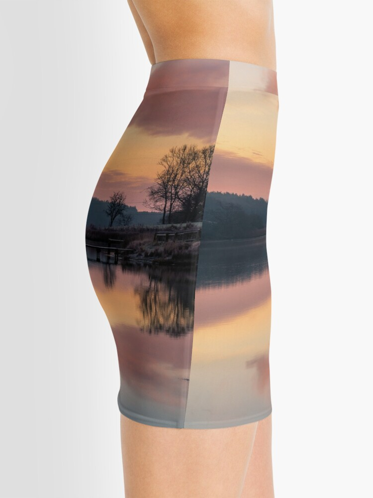Alternate view of Dawn At The Old Millpond Mini Skirt