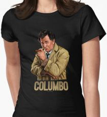 Columbo - TV Shows  Women's Fitted T-Shirt