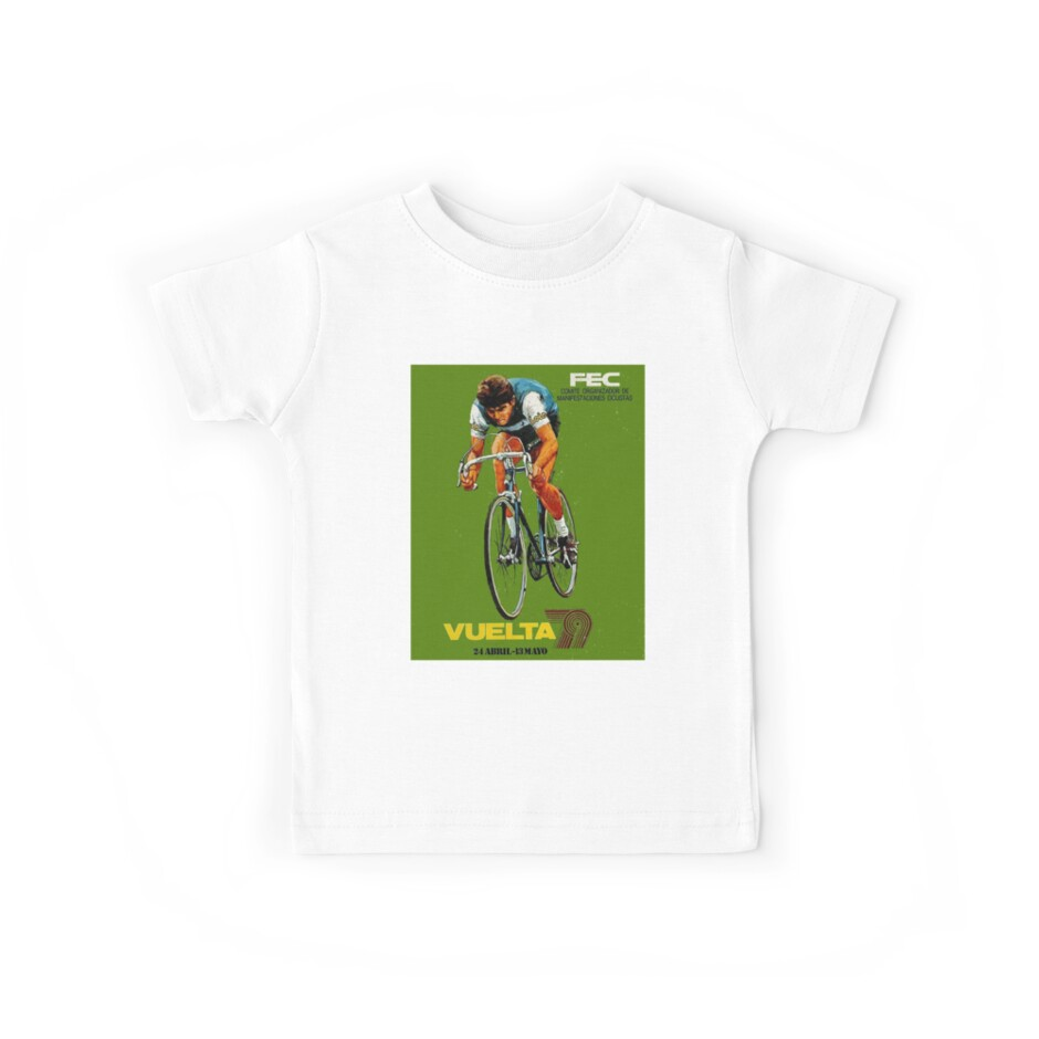 VUELTA SPAIN: Vintage Bike Racing Advertising Print by posterbobs