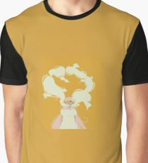 Smoke Girl Graphic T-Shirt