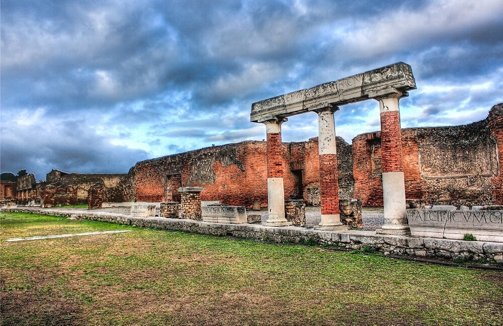 Pompeii Forum by ektphotography