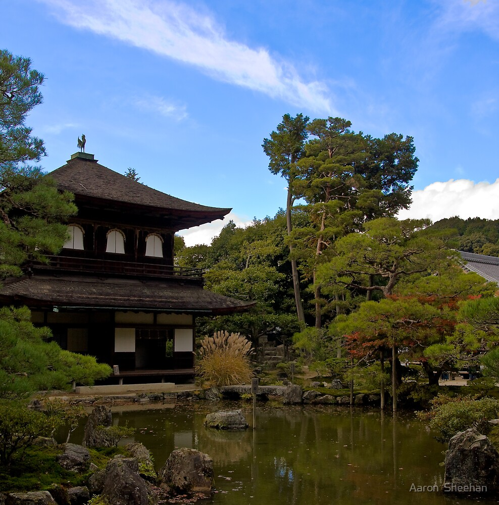 Temple Lake Osaka by Aaron  Sheehan