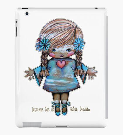 Love is a Big Hug iPad Case/Skin