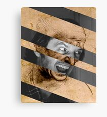 "Leonardo da Vinci's ""Head for The Battle of Anghiari"" & Jack Nicholson in Shining Canvas Print"