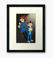 Yu-Gi-Oh ~Beginnings~ Framed Print