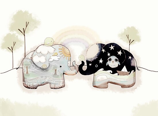 Good Karma Elephants by © Karin Taylor