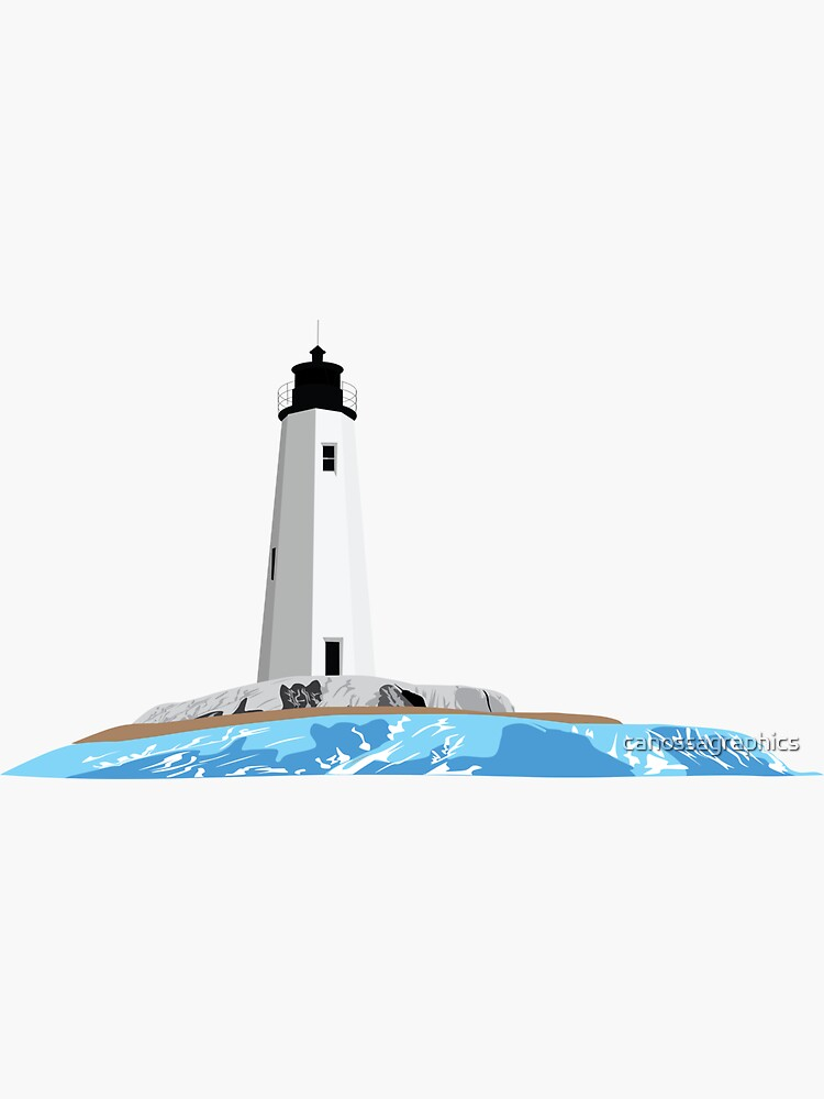 New Point Comfort Lighthouse by canossagraphics