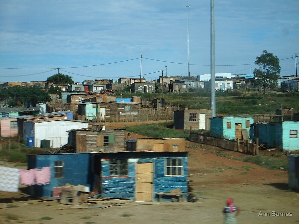 African Housing by Ann Barnes
