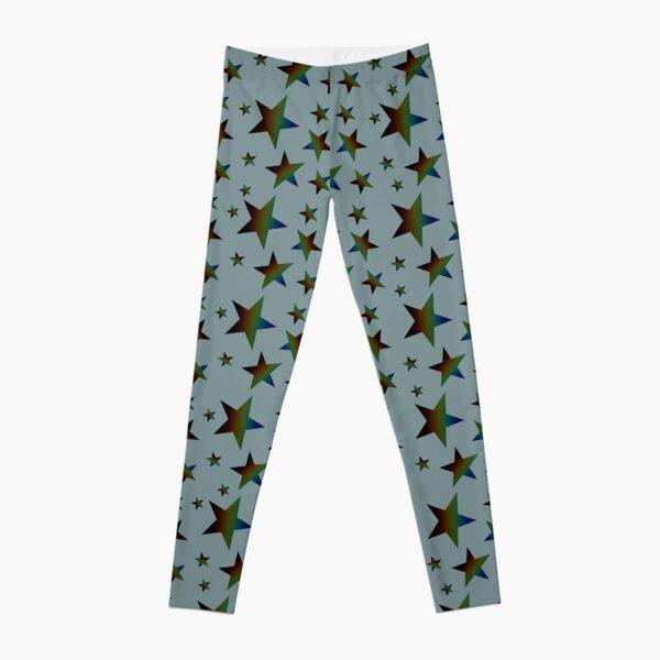 Rainbow Stars Leggings