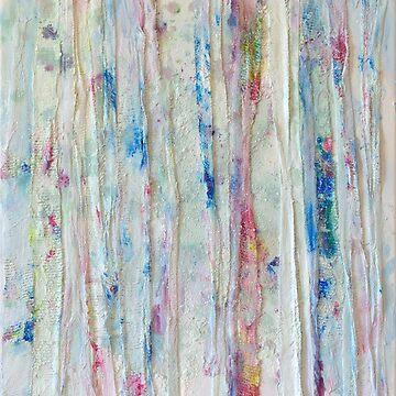 Birch Trees in Snow by MaijaR