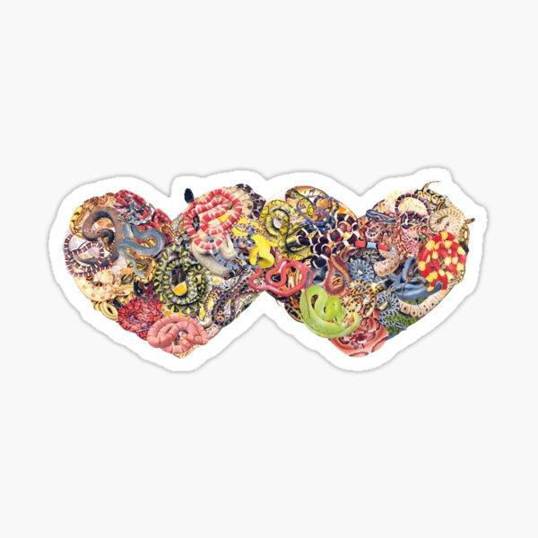Hearts (Snakes) Sticker