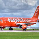 Easy Jet Anniversary livery by Darren Kitchen