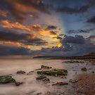Yaverland Beach by manateevoyager