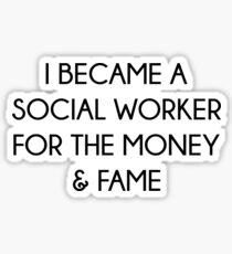 Social Worker Quotes Stickers Redbubble