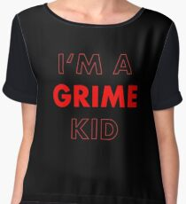 I'm A Grime Kid Women's Chiffon Top
