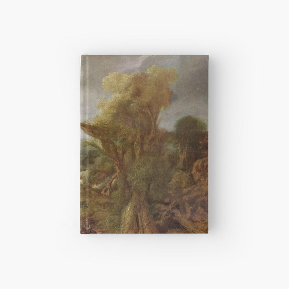 Stolen Art - Landscape with an Obelisk by Govert Flinck Hardcover Journal