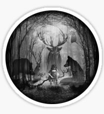 Classical Concerto in the Woods Sticker