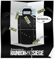 MONTAGNE - Corner Trick Poster