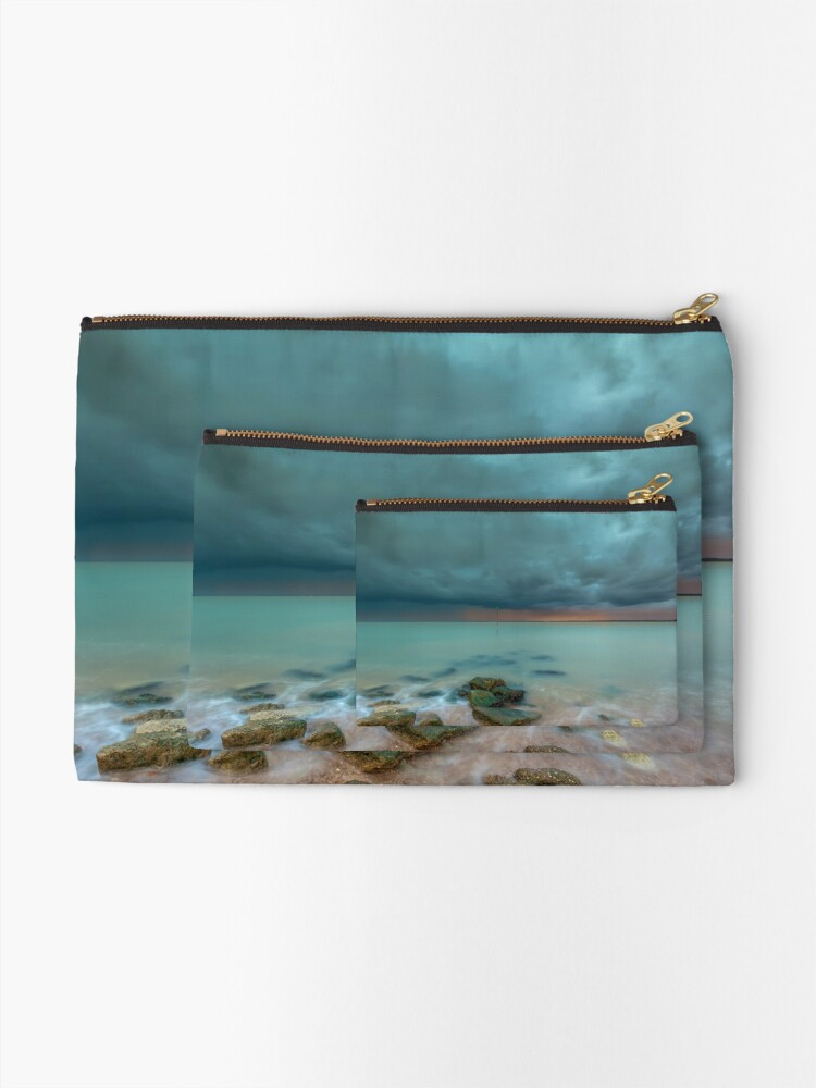 Alternate view of Gurnard Bay Storm Zipper Pouch