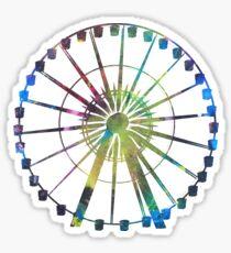 Technicolor Ferris Wheel Sticker