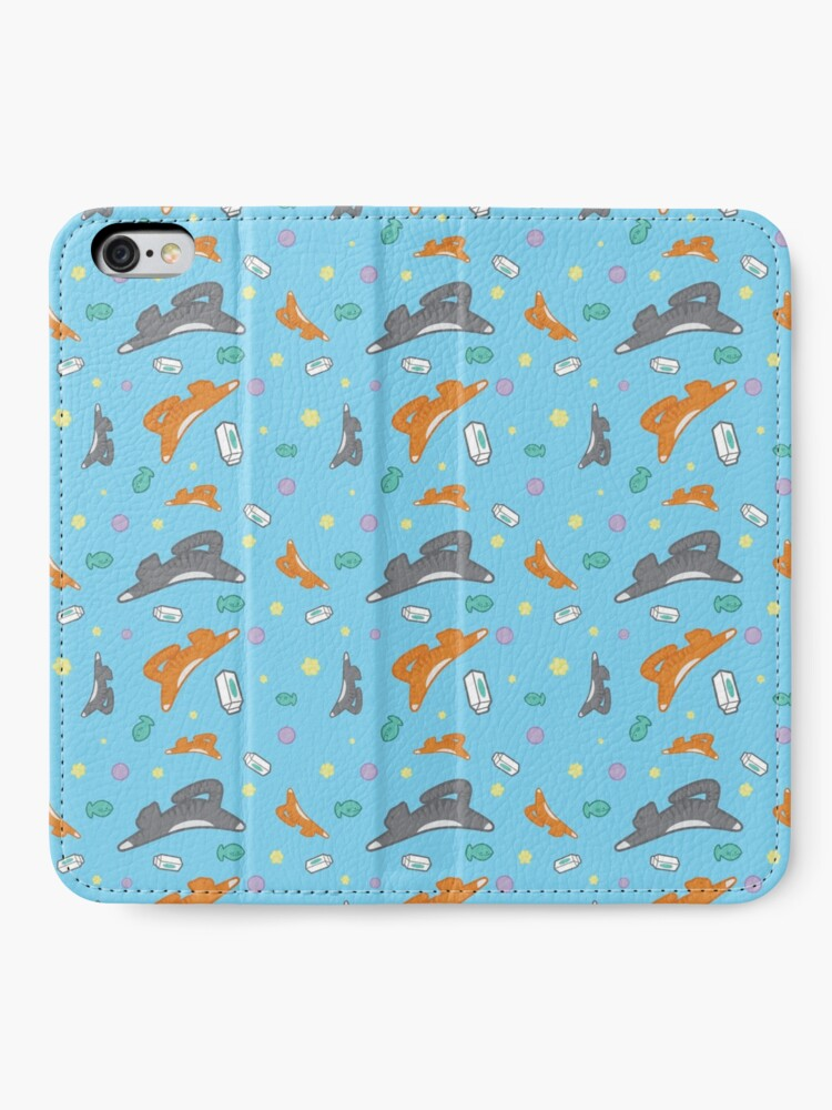 Alternate view of Kitty Pattern iPhone Wallet