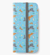 Kitty Pattern iPhone Wallet/Case/Skin