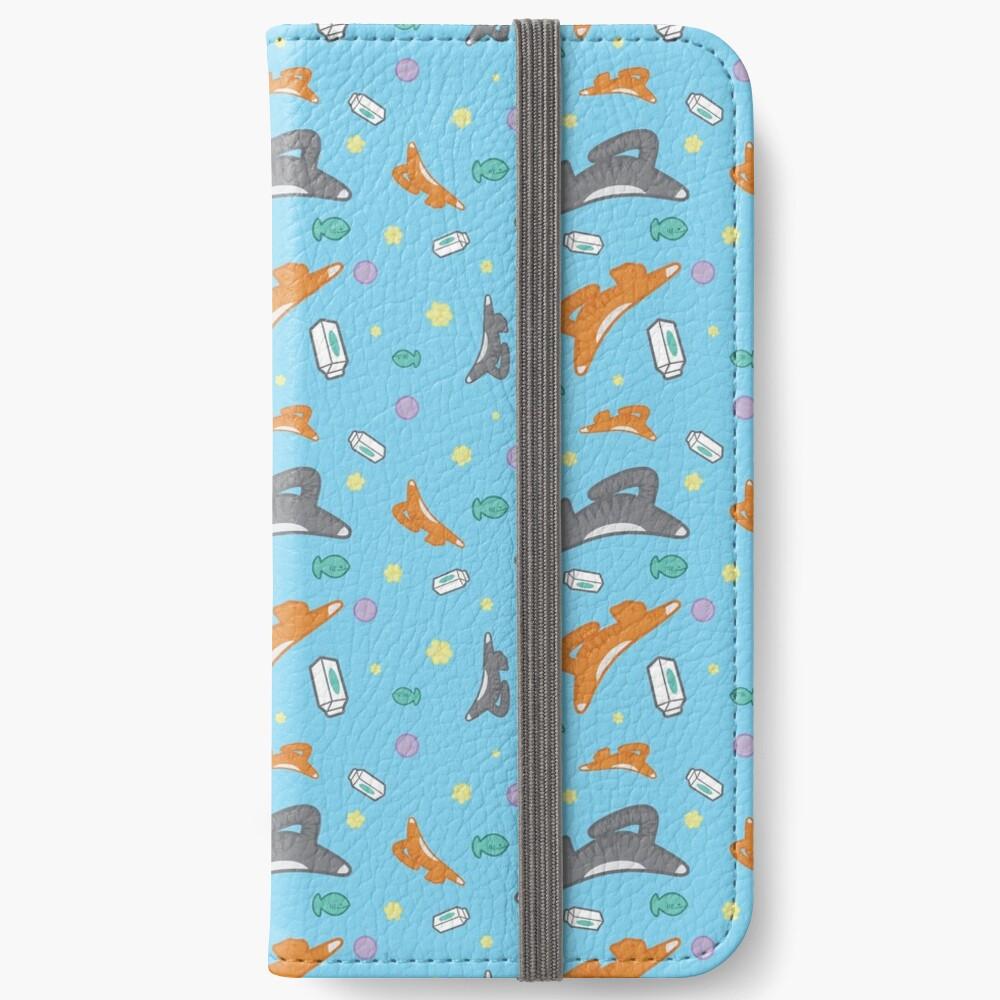 Kitty Pattern iPhone Wallet