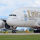 Emirates A380 by Darren Kitchen