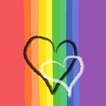 Rainbow  Love by sybilthorn