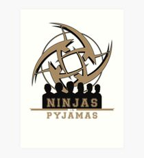Ninjas in Pyjamas! Counter Strike team Art Print