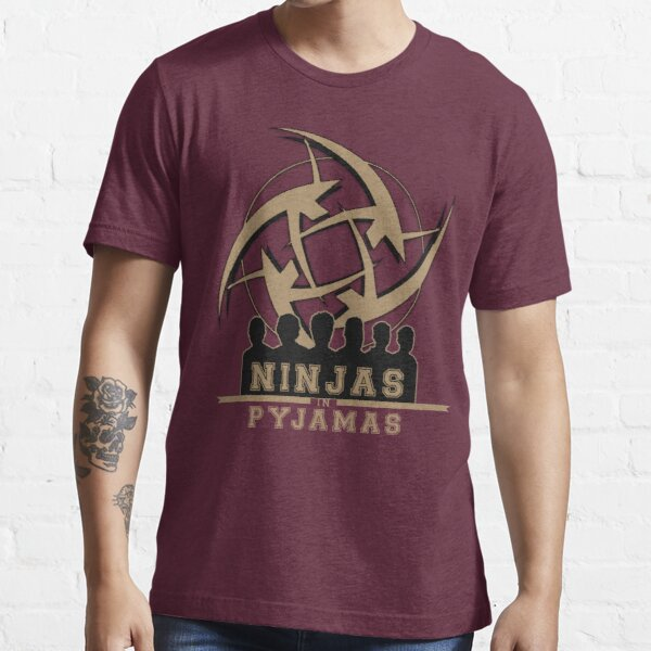 Ninjas in Pyjamas! Counter Strike team Essential T-Shirt