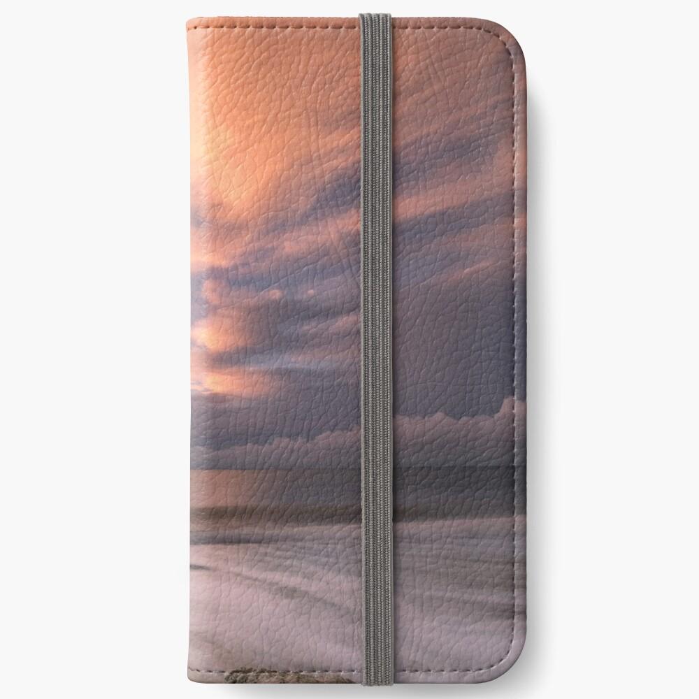Little Rock Sunset #2 iPhone Wallet
