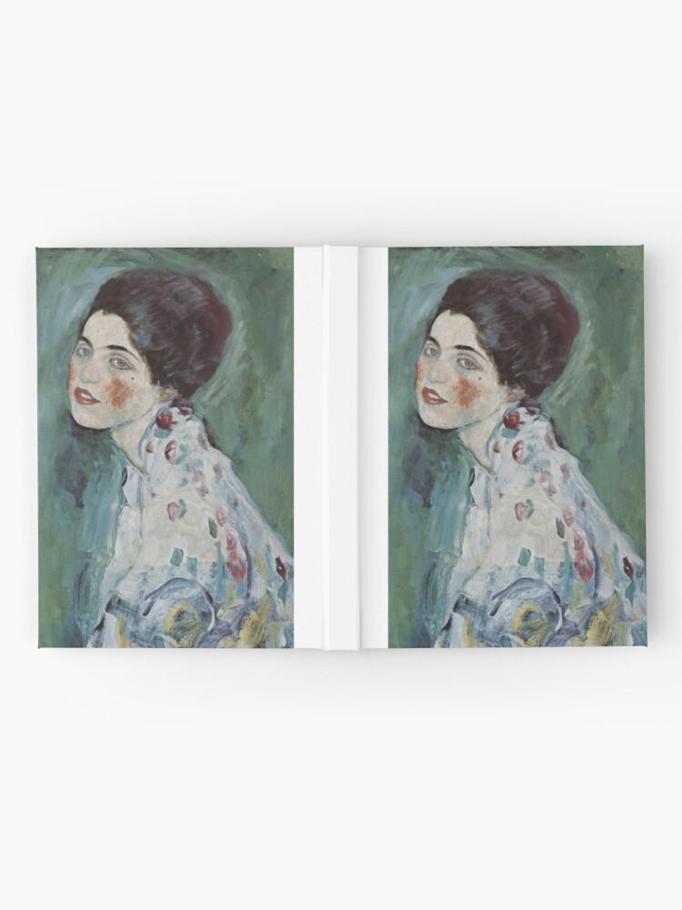 Alternate view of Stolen Art - Portrait of a Lady by Gustav Klimt Hardcover Journal