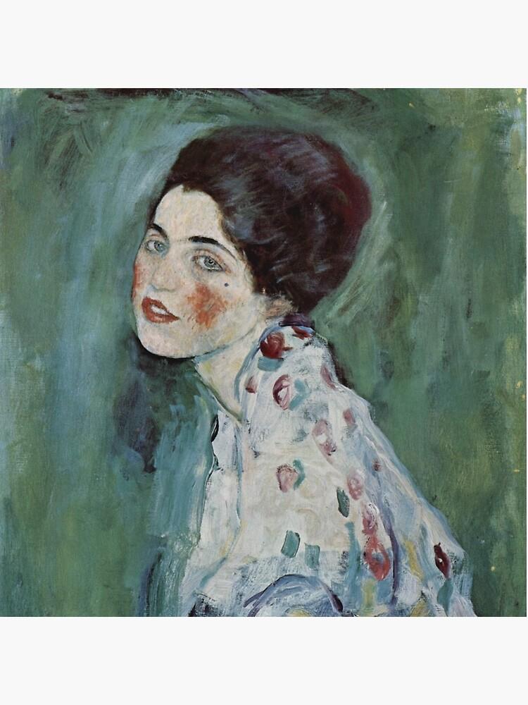 Stolen Art - Portrait of a Lady by Gustav Klimt by podartist