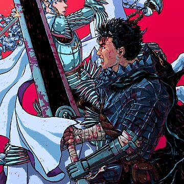 The Black Swordsman versus The White Hawk by UniversManga