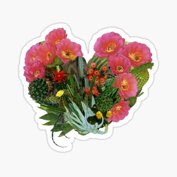 Heart (Cactus) Sticker